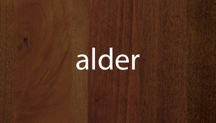 Alder Stain Samples