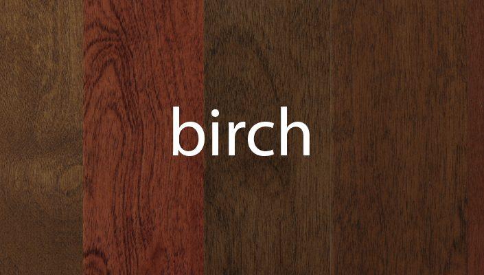 Birch Stain Samples